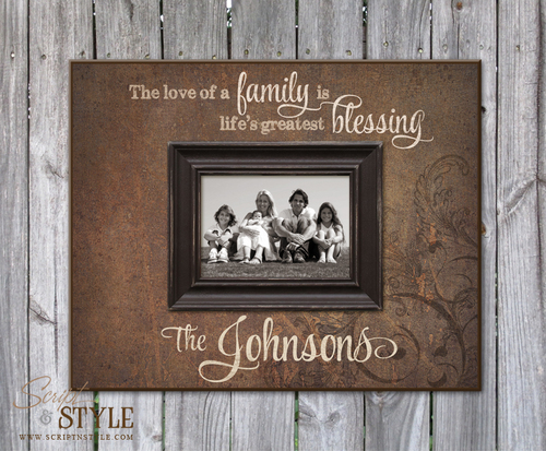 Commemorating Loved Ones with Personalized Picture Frames - Script ...